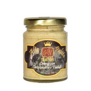 Crema di Caciocavallo e Tartufo Bianco